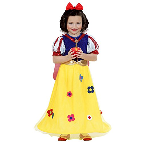 Prinzessin Kleid Kinder Prinzessinnen Kinderkostüm 104 cm 2-3 Jahre Märchen Mädchenkleid Schneewittchen Kostüm Karnevalskostüme Kleinkinder Mädchen Schneewittchenkostüm Disney (Disney Kostüme Schneewittchen Kleinkind)