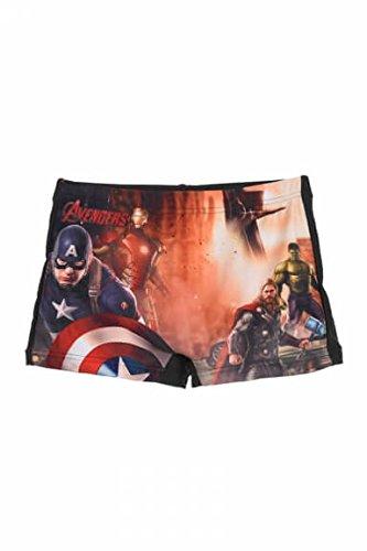 Hasbro Costume Mare Piscina Marvel - Avengers - Taglie 4 - 6 - 8 - 10 Anni dqe1907 - Taglia 4 Anni Colore Nero