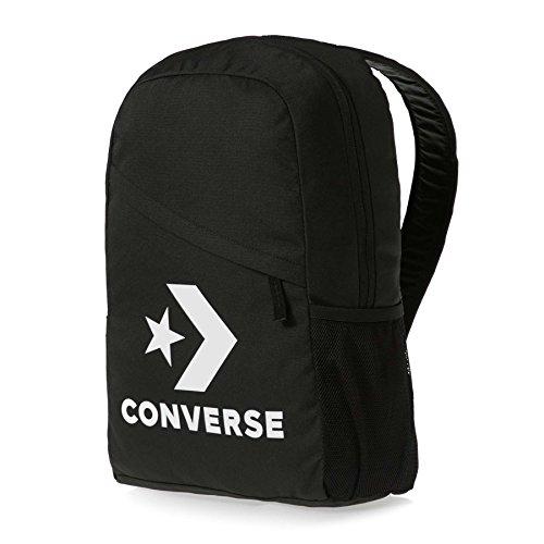 Converse Speed Backpack Rucksack Unisex Star Chevron Schwarz 10008091 4d599696ca