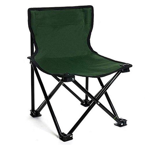 TTYY Chaise pliante extérieure 2PCS Moon Chair Pique-nique Pêche Camping Pliable (s'il vous plaît laissez un message si vous avez besoin d'une couleur différente) , vert