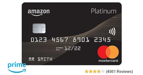 Ebay Mastercard Login >> Amazon Platinum Mastercard