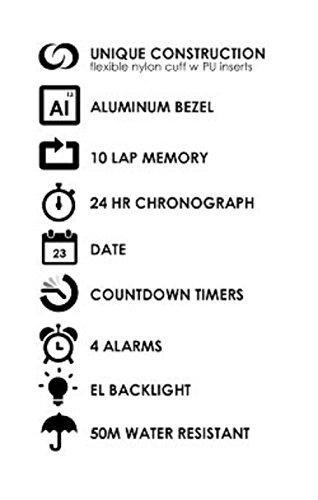 Soleus Swift Fitness Uhr Aktivitätstracker Chronograph - 3