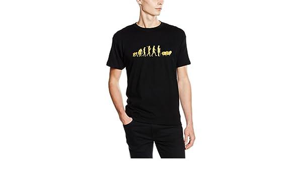 GOLD Edition Schaefer Schaf Wolle Hirt Evoltion T-Shirt S-XXXL