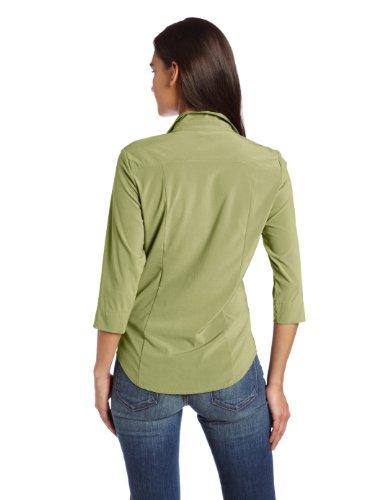exofficio Damen Kizmet Traveler 3/4Sleeve Shirt Light Aloe