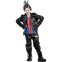Costume di Carnevale da Punk Vestito per Ragazzo 12-16 Anni Travestimento  Veneziano Halloween Cosplay 6f3bab344b7