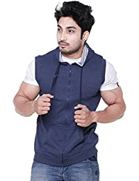 EASY 2 WEAR ® Mens Sleeveless Jacket Hooded (Size S to 4XL)