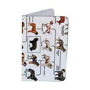 Porte-cartes Races de Chiens, pour Cartes de Visite et Cartes Bancaires