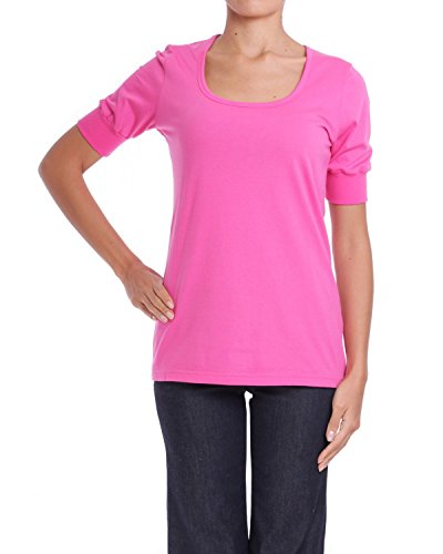 ANTA Q'ULQI - Top / Camicetta in jersey 100% cotone Tanguis bio - rosa, S