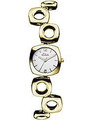 s.Oliver Damen-Armbanduhr XS Analog Quarz Alloy SO-3008-MQ