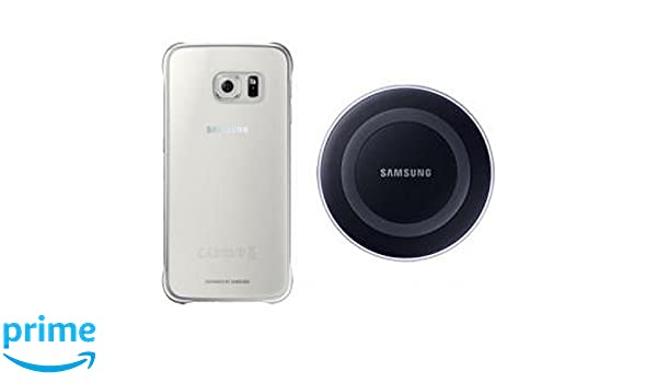 Samsung Starter Kit ep-wg920 Wireless Charger /& Galaxy s6 plus clear cover