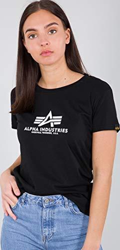 Alpha Industries New Basic Damen T-Shirt Schwarz M