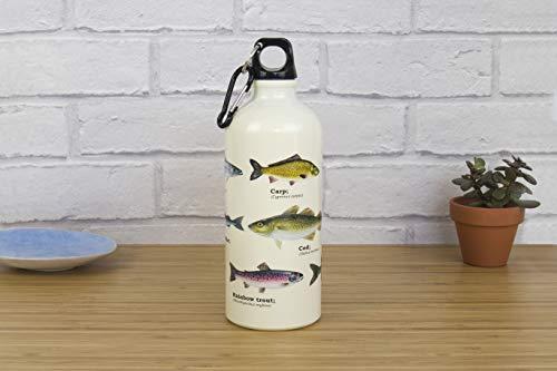 Ecologie Bouteille d'eau Motif poissons 500 ml