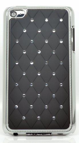 Generation 8 GB 16 GB 32 GB 64 GB silber mit Glitzersteinen blackchrome gesteppt Hard Case/Hülle/Schutzhülle/Hülle/Skin/Schutzfolie/Mobiltelefon/Handy/Smartphone/Zubehör. ()