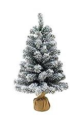 Idea Regalo - Pinetto Innevato 65 cm - Albero di Natale Piccolo