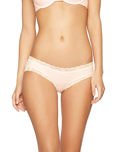 Iris & Lilly Damen Hipster Body Natural Panty, 3er Pack Rosa X-Small (3-pack-panty)