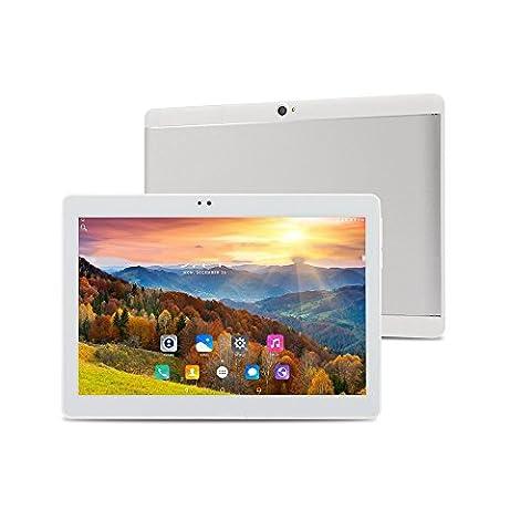 ibowin® M130 10,1 Zoll MediaTek Quad-core 1280x800 IPS Screen Android PC, Entsperren Handy Doppel-SIM Unlocked 3G WCDMA/2G GSM PC Phone 1G RAM 16G ROM WIFI Bluetooth GPS (Unlocked Gsm-bluetooth-kamera-telefon)