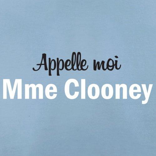Apelle Moi Madame Clooney - Femme T-Shirt - 14 couleur Bleu Ciel