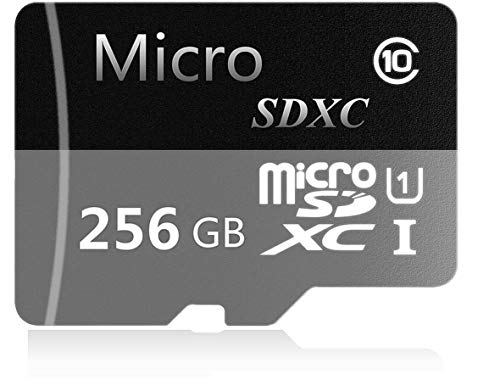 Micro SD Tarjeta 256 GB Alta Velocidad Clase 10 Micro