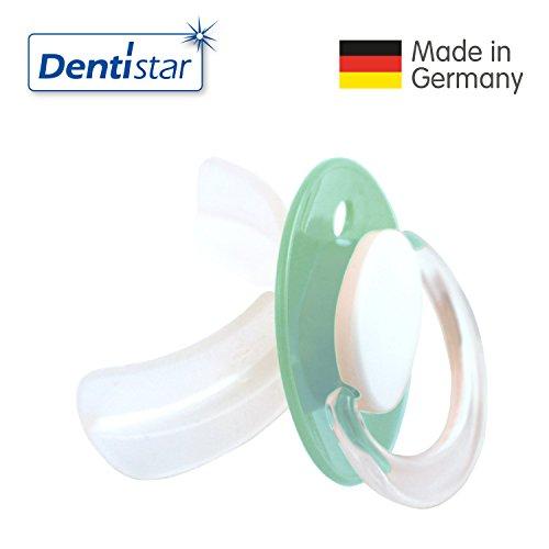 Preisvergleich Produktbild Dentistar® STOPPi® Entwöhnungssauger - Schnuller Türkis zum Abgewöhnen ab 24 Monate - Entwöhnungs-Schnuller Silikon für Babys