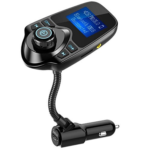 NULAXY Bluetooth Car Transmitter...