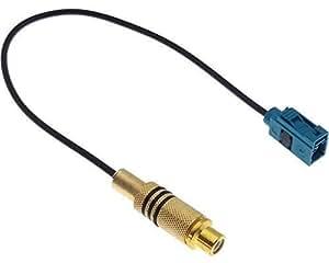 Adaptateur rCA pour caméra de recul fakra pour gPS blaupunkt nX adaptershop câble vidéo mERCEDES fORD