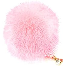 Enchufe anti polvo - SODIAL(R) 1 X Enchufe anti polvo del auricular de borla 3D de diamante de cristal auriculares de 3,5 mm tapon de tapa del auricular de color rosado