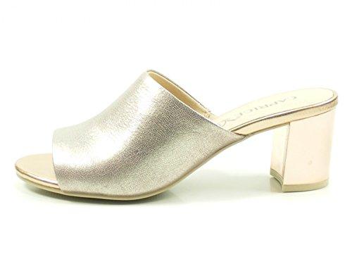 Caprice 9-27211-30 Damen Pantoletten Sandalen Clogs, Schuhgröße:40.5, Farbe:Rosa