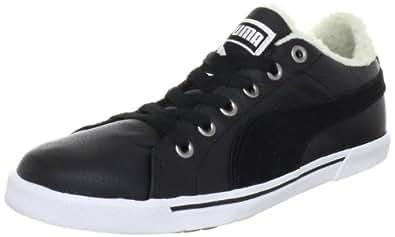 Puma Benecio Lo Fur WTR 352728, Unisex - Erwachsene Klassische Sneakers, Schwarz (black-white 02), EU 42.5 (UK 8.5) (US 9.5)