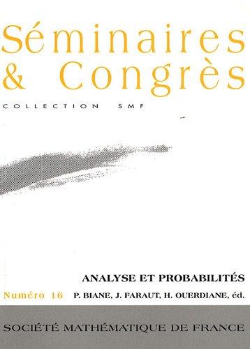 Analyse et probabilits