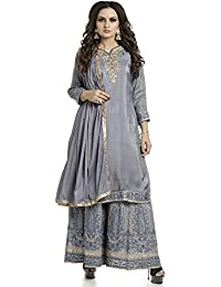 0f5b9ad11e4 Amazon.in  Sharara - Dress Material   Ethnic Wear  Clothing ...
