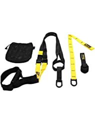 Relefree Suspension Fitness Trainer Body Weight Training System Full Body Home Gym Strap For Strength Endurance, Crossfit, Fitness, Aerobic Exercise, Professional by Relefree