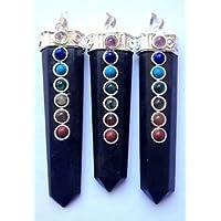LOT VON DREI schwarz Turmalin Wellness Chakra Anhänger Crystal Healing Herren Frauen Geschenk Fashion Jewelry... preisvergleich bei billige-tabletten.eu