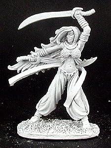 Desconocido Reaper Miniatures 2970 - Leyendas Oscuras: Bladedancer (sin Pintar) Importado de Alemania