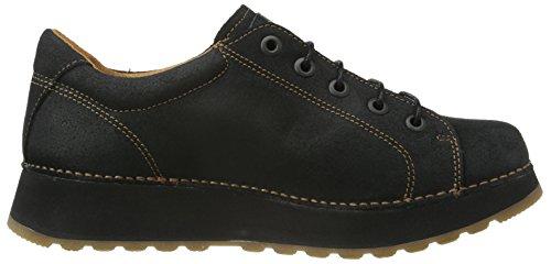 art  HEATHROW, Chaussures à lacets femme Noir (Black)