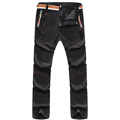 walk-leader pour extérieur coupe-vent imperméable durable Randonnée Escalade Pantalon/Pantalon pour femme - gris - Large