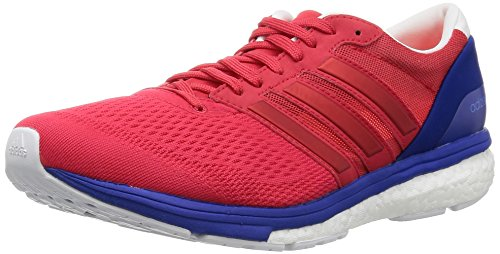 adidas Adizero Boston 6, Chaussures de Running Entrainement Homme Rot (ray Red /ray Red /bold Blue)