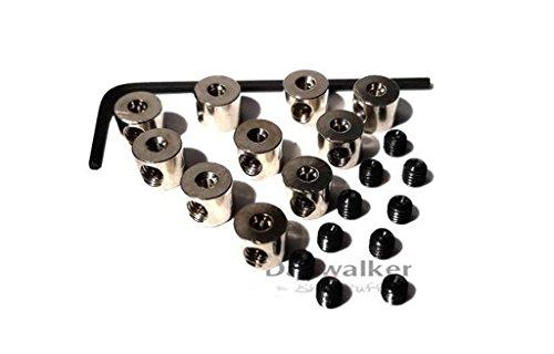 Pin Keeper • Pin Locker • Pin Sicherungen • Anstecknadel Badge • Butterfly Verschluss ersetzen