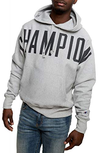 Champion Men's Reverse Weave Pullover Hoodie 12 Oz Reverse Weave Fleece