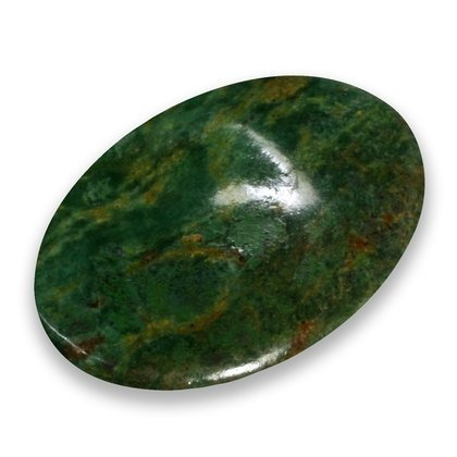 Piedra pulgar de fuchsita con rubí