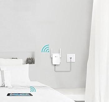 Tp-link Re305 Ac1200 Wlan Repeater (Dual Wlan Ac+n, 1167 Mbits, App Steuerung, 1 Port, 2x Flexible Externe Antennen, Wps, Ap Modus, Kompatibel Zu Allen Wlan Geräten) Weiß 4