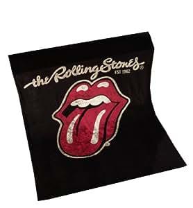 Global Labels G 74 900 RO1 100 Rolling Stones Polarfleecedecke, Polyester, 150 x 200 cm