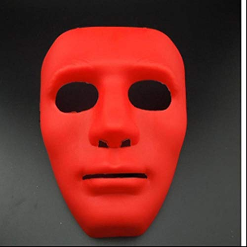 LKJH Maske Maskerade Dress Up Maske B-Boy Hip-Hop Dance Requisiten Ball Party Kostüm Masken Cosplay Scary Solid Full Face Für Erwachsene (Ball Boy Kostüm)
