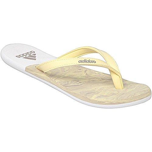 brand new b34f1 6a263 adidas eezay Ice Cream W – Womens Sandals, Yellow – (amasengrivap