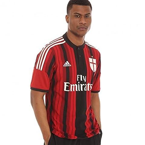 adidas - Jerseys - AC Milan Home Replica Player Jersey - White Vapour - XL