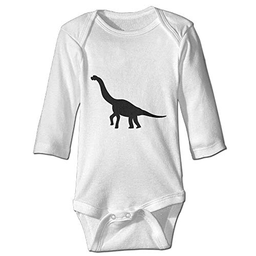 Monicago Neugeborenes Baby-Jungen-Mädchen-Bodysuit-Lange Hülse, Dinosaur Funny Baby Joys Outfits Long Sleeve Bodysuits Girls Boys