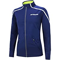 Airtracks Thermo Fahrradjacke Air Tech/Laufjacke / Windstopper/Winddicht / Wasserabweisend/Reflektoren