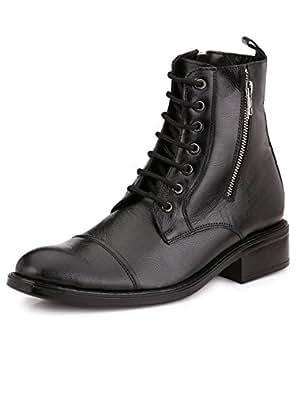 Mactree Men's Black Boots - 10 UK/India (44 EU)(macs1558black10)