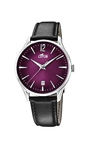 Lotus Watches Reloj Análogo clásico para Hombre de Cuarzo con Correa en Cuero 18402/6