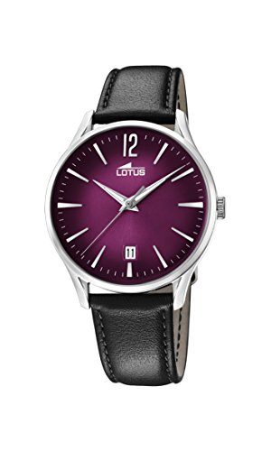 Lotus Watches Mens Analogue Classic Quartz Watch with Leather Strap 18402/6