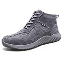 SafeByAlex Work Safety Shoes Steel-Toe Sneaker Light Weight for Men